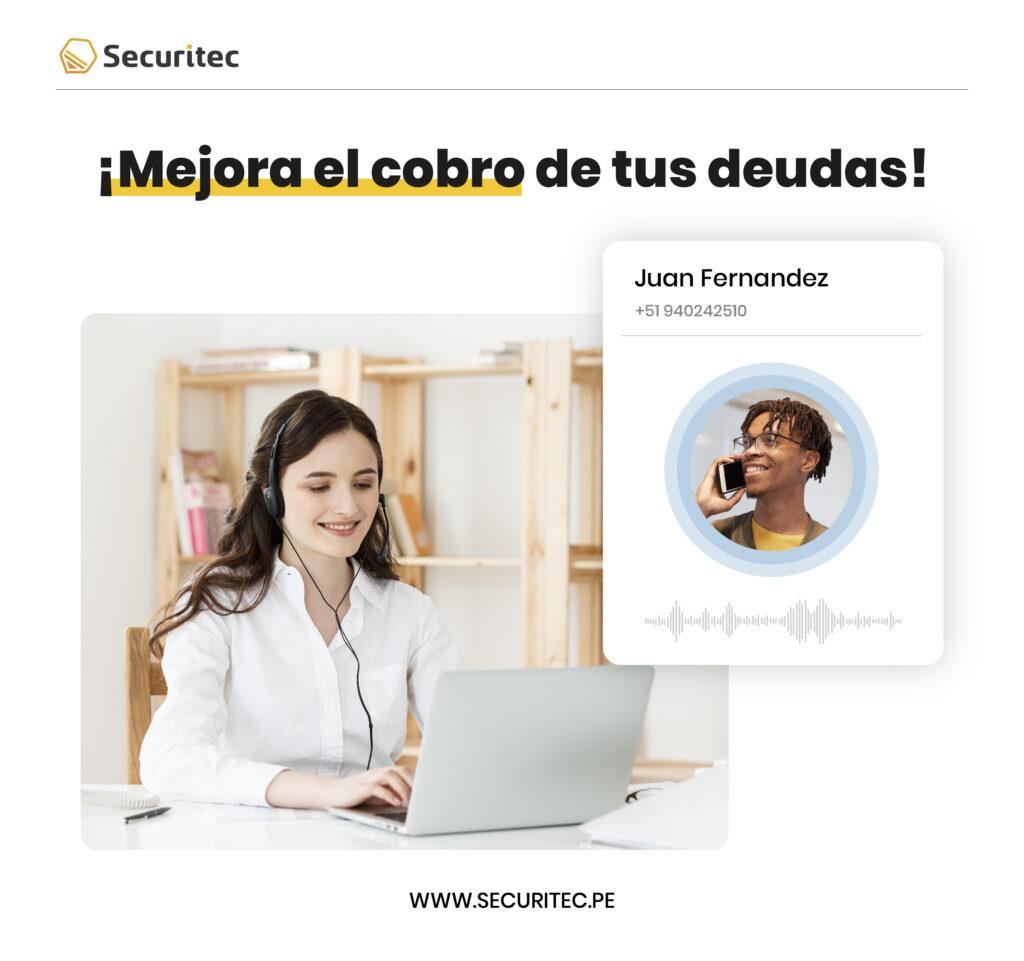 Cobranzas telefónicas con Securitec