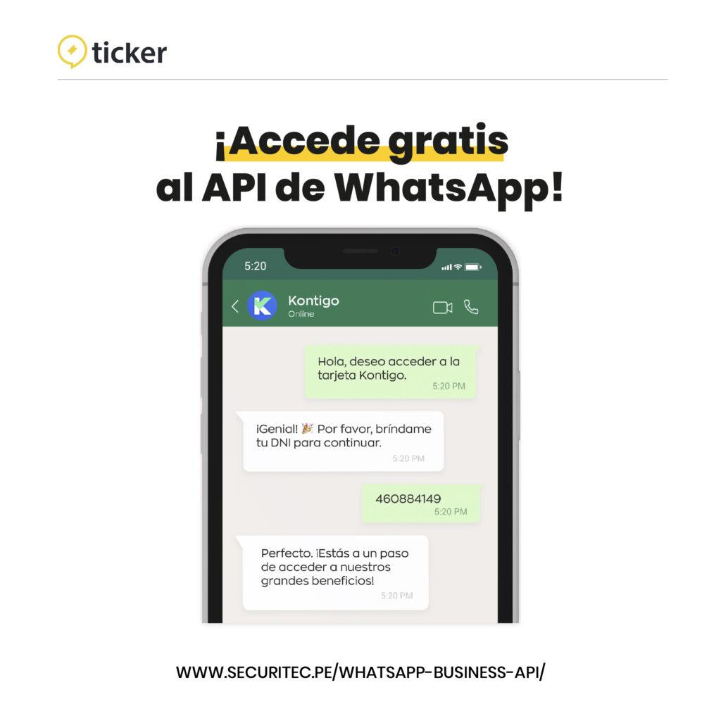 Accede gratis a WhatsApp Business API